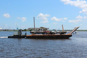 PWD on the St. Johns River in Jacksonville Fl.